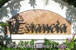 Estancia community sign